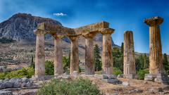 Ancient Corinth (Steve Grimmett Photography) Tags: temple corinth apollo greece