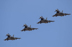 EF-2000 formation arrival (Rod Martins) Tags: 19thseptember2019 bundeswehr ef2000 formation germanairforce luftwaffe rafwaddington typhoon runandbreak runway20