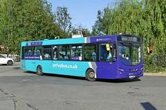 Arriva Midlands VDL SB200CS Wright Pulsar 2 3809 TUI7938 (formerly MX61AWW) at Nuneaton Bus Station (Mark Bowerbank) Tags: arriva midlands vdl sb200cs wright pulsar 2 3809 tui7938 formerly mx61aww nuneaton bus station