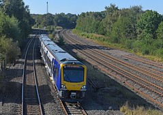 Class 195 on Test (garstangpost.t21) Tags: 195123 northern claycross 5z42 nottingham worksop