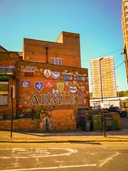 Armley in the Sun (TTbeep) Tags: armley leeds sunny happysigns positivepeople
