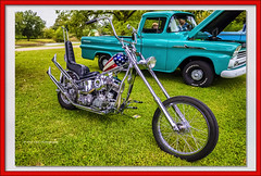 The Chopper (Kool Cats Photography over 12 Million Views) Tags: luminar oktraveltakeover topaz architecture carshow carshows harleydavidson landscape custombike motorcycle oklahoma outdoors photography ricohgrii streetphotography