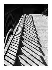classic shadow stairway (Armin Fuchs) Tags: arminfuchs nomansland sisteron stairway shadows diagonal anonymousvisitor thomaslistl wolfiwolf jazzinbaggies stripes niftyfifty
