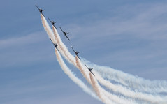 41e  Sanicole Airshow - september 15, 2019 - 1196 (Frederic_P.) Tags: sanicoleairshow sanicole airshow sigma150600contemporary breitlingjetteam jet formation breitlingpatrouille breitling l39albatros aero aerol39