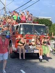 Carnival Parade 2019, P'town MA (Boston Runner) Tags: provincetown carnival parade massachusetts costume capecod 2019 enchantedforest dennis fire engine