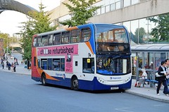 Stagecoach in Warwickshire Scania N230UD ADL Enviro400 15674 KX10KTD in Coventry (Mark Bowerbank) Tags: stagecoach warwickshire scania n230ud adl enviro400 15674 kx10ktd coventry