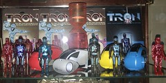 Tron -The Digital Frontier (skott00) Tags: toys disney necca tomy actionfigures tron