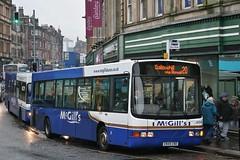 McGill's of Greenock X949 CNO (J5518) | Route 20 | St. Mirren St, Paisley (Strathclyder 2.0) Tags: mcgills daf vdl sb120 wright cadet x949 cno x949cno j5518 stmirren street paisley renfrewshire scotland johnstone buseireann 00d96304 dwm15 greenock