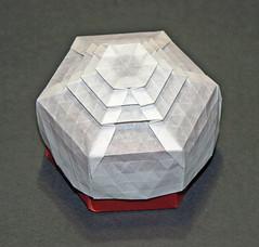 Kathmandu tessellation box (mganans) Tags: origami tessellation box