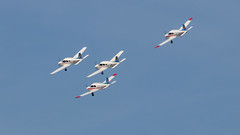 41e  Sanicole Airshow - september 15, 2019 - 251 (Frederic_P.) Tags: sanicoleairshow sanicole airshow sigma150600contemporary thevictors formationflight formationteam pipercadet piperwarrioriii