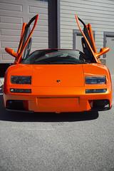Lamborghini Diablo (garyhebding) Tags: lamborghini lamborghinidiablo lambo diablo italian italianexoticcar exoticcar supercar suicidedoors scissordoors