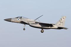 818_McDonnellDouglasF-15CBaz_IsraelIDF_EGXW_Img01 (Tony Osborne - Rotorfocus) Tags: mcdonnelldouglas f15 f15c eagle baz israel israeli air force defence forces idf iaf raf waddington cobra warrior 2019
