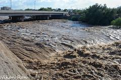 The Rain Brings Death (Nikon Ron D7000) Tags: bridge flash flood pima county tucson az arizona homeless man death jail nikon d7000