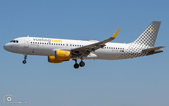 Vueling Airlines (Guilherme_Martinez) Tags: aircraft airbus airbuslovers adorable sky summer sun sunset follow family followme planespotting passion portugal lisboa love lisbon lovers like