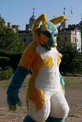 Tower of LondonFur (C_Oliver) Tags: london ec3 toweroflondon fursuit fursuiter towerhill trinitysquaregardens londonfurs furmeet england costume