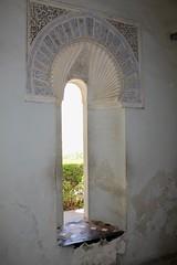 Window Treatment (Piedmont Fossil) Tags: malaga spain alcazaba palace fortress window moor moorish decoration