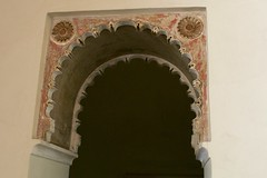 Scalloped Doorway (Piedmont Fossil) Tags: malaga spain alcazaba palace fortress door arch moor moorish decoration