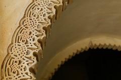 Scrollwork Detail (Piedmont Fossil) Tags: malaga spain alcazaba palace fortress door arch moor moorish decoration