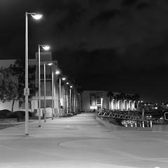 P3II8286_mono (Ian Luc) Tags: pentaxk3 dfa100mmmacro longexposure nightime tripod adelaide portadelaide