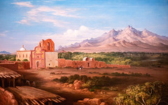 Tumacacori Mission (Thomas Hawk) Tags: america arizona henrycheeverpratt phoenix phoenixartmuseum tumacacorimission us usa unitedstates unitedstatesofamerica artmuseum painting