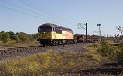 Photo of 56 094 departing Kingmoor Yard with 6K25.