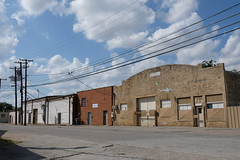 Dallas Scenes 18 09.21.19 (Gene Ellison) Tags: city dallas texas buildings glass steel brick reflections cityscape street photography sky clouds fujifilm provia sooc