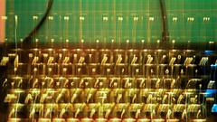 qwertz-full-hd-0100 (MOS2000) Tags: keyboard tastatur gold gelb yellow abstrakt abstract licht light wischbild