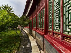 P0001046 Beijing Trip - 12-Sep-2019 to 15-Sep-2019 (f/13 photography) Tags: phase one phaseone iq4 iq4150 150mp 150mpx alpa 12max max technical camera digital back medium format rodenstock wide angle sunrise long exposure clouds weather lake beihai park sunset water beijing moving cityscape architecture imperial classic chinese vintage red walls