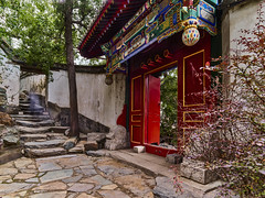 P0001043 Beijing Trip - 12-Sep-2019 to 15-Sep-2019 (f/13 photography) Tags: phase one phaseone iq4 iq4150 150mp 150mpx alpa 12max max technical camera digital back medium format rodenstock wide angle sunrise long exposure clouds weather lake beihai park sunset water beijing moving cityscape architecture imperial classic chinese vintage red walls