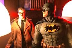 Batman Day (misterperturbed) Tags: batmanday batman80thanniversary batman commissionergordon mezco mezcoone12collective one12collective lifxmini lifx dccomics diamondselect