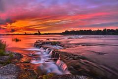 Some Morning (NUNZG) Tags: sunrise landscape nature sun clouds water rapids