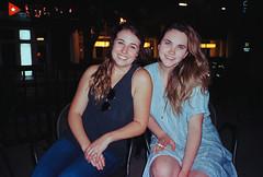 Katie and Chloe (dvlmnkillatron) Tags: 35mm 400 analog epic film kodak mjuii olympus portra stylus
