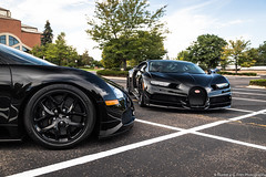 Different Perspective (Hunter J. G. Frim Photography) Tags: supercar hypercar colorado bugatti black awd w16 french turbo carbon coupe nocturne veyron chiron bugattiveyron bugattichiron photoshoot