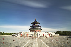 P0001111 Beijing Trip - 12-Sep-2019 to 15-Sep-2019 (f/13 photography) Tags: phase one phaseone iq4 iq4150 150mp 150mpx alpa 12max max technical camera digital back medium format rodenstock wide angle sunrise long exposure clouds weather tiantan park temple heaven beijing moving cityscape architecture imperial classic chinese vintage red walls