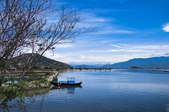 IMG_4559_1 (ythanhnguyen.vxl) Tags: vietnam canon750d canoneos750d lake boat water summer asia nature tamron blue pond