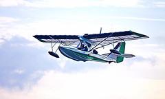 CLOSE (ddt_uul) Tags: airplane plane seaplane water lake whitmorelake michigan