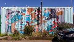Peter Pan (stshank) Tags: berkeley art mural