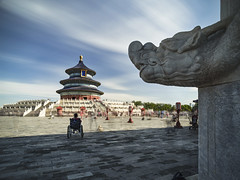 P0001113 Beijing Trip - 12-Sep-2019 to 15-Sep-2019 (f/13 photography) Tags: phase one phaseone iq4 iq4150 150mp 150mpx alpa 12max max technical camera digital back medium format rodenstock wide angle sunrise long exposure clouds weather tiantan park temple heaven beijing moving cityscape architecture imperial classic chinese vintage red walls