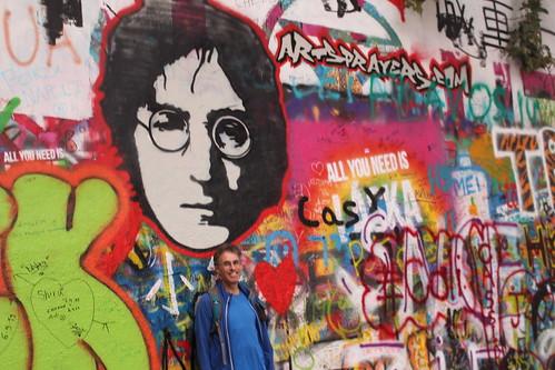 John Lennon fan photo
