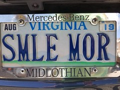 Smile More (Gamma Man) Tags: licenseplate plate va virginia elichristman elijahchristman elijameschristman elijahjameschristman elichristmanrva elijahchristmanrva elichristmanrichmondva elichristmanrichmondvirginia elijahchristmanrichmondva elijahchristmanrichmondvirginia vanitytag numberplate wankertag customnumberplate vanityplate