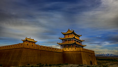 La puerta norte (Cerratín) Tags: gobidesert greatwallofchina adventure ancient ancientcivilization archaeology architecture asia atmosphericmood awe beautyinnature brick castle china chineseculture cultures defending defensivewall desert dramaticsky dreamlike fort fortifiedwall freedom hiking history inspiration internationallandmark jiayuguan landscapemajestic moodysky mountain mysteryfantasy nopeople old oldruin pavilion rammedearth remotelocation scenics silence sky sunlight sunset surroundingwall tower tranquilscene travel traveldestinations unescoworldheritagesite vibrantcolor wall