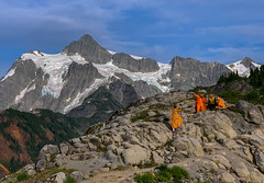 Monks on the mountain (Cole Chase Photography) Tags: deming washington unitedstatesofamerica mtbaker mountshuksan mtbakersnoqualmienationalforest pacificnorthwest