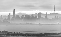 Hazy San Francisco (stshank) Tags: berkeley sanfrancisco