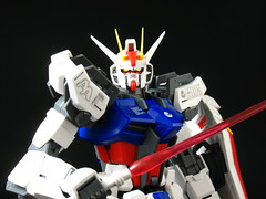MG Aile Strike Gundam (seanmonster) Tags: turn aile strike gundam mobile suit gunpla mecha