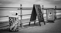 Whitby . (wayman2011) Tags: colinhart fujifilm50mmf2 fujifilmxt1 lightroom5 wayman2011 bw mono coast seaside promenades northyorkshire whitby uk