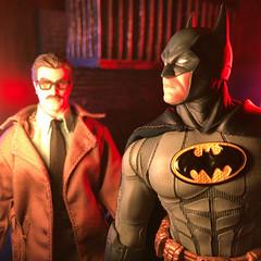Batma Day (misterperturbed) Tags: batmanday batman80thanniversary batman commissionergordon mezco mezcoone12collective one12collective lifxmini lifx dccomics diamondselect