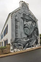 Duek_3019 Plouhinec (meuh1246) Tags: streetart bretagne finistère 29 plouhinec duek phare baleine animaux casquette