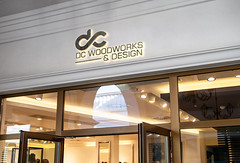 Shop-Facade-Logo-MockUp (smzahidhassan3) Tags: dc shop wood loho