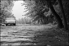 "GAZ-24 ""Volga"" (maxsharoykinphotography) Tags: flickr photo photography foto absoluteblackandwhite mono nikkor street city bw blackandwhite car classic old"