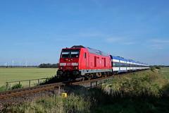 P1930412 (Lumixfan68) Tags: eisenbahn züge loks baureihe 245 dieselloks deutsche bahn db regio mehrmotorloks multiengine bombardier traxx marschbahn
